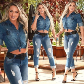 2019 Calça Jeans Usual Estilo Pit Bull Cos Medio *******
