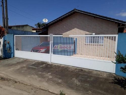 Linda Casa Térrea Litoral- Ótimo Para Renda-02 Casas- Aceita Permuta Apartamento Em Guarulhos- Sp - Ai17123