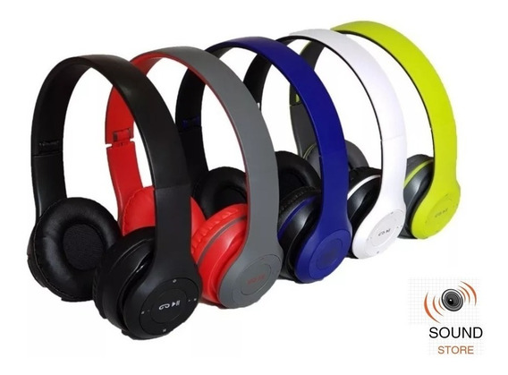 Fone De Ouvido Headphone Micro Sd Wireless Bluetooth Mp3 Fm