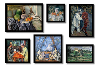Cézanne, Grandes Mestres Da Pintura Os Melhores Quadros Kit6