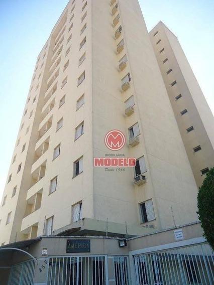 Apartamento Com 3 Dormitórios Para Alugar, 100 M² Por R$ 1.000/mês - Nova América - Piracicaba/sp - Ap2728