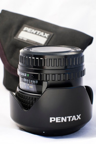 Lente Pentax 645 Grande-angular Smc Fa 45mm F 2.8 Auto-foco