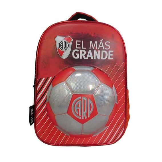 Mochila Futbol River Plate 12p Mmk Ri112