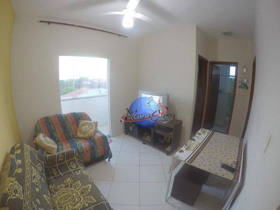 Apartamento Com 2 Dormitórios Para Alugar, 52 M² Por R$ 320,00/dia - Agenor De Campos - Mongaguá/sp - Ap7506