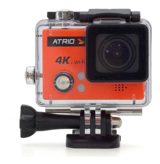 Câmera De Ação Atrio Fullsport Dc185 4k Sd Wi-fi- Multilaser