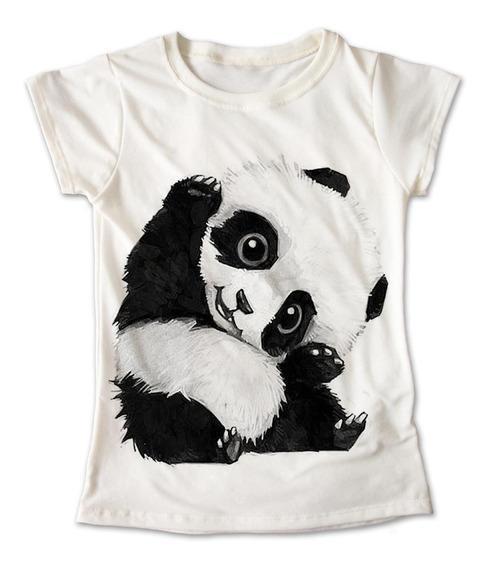 Blusa Panda Colores Playera Estampado Oso Animales 029