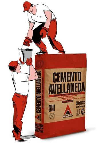 Cemento Avellaneda Bolsa X 50 Kg