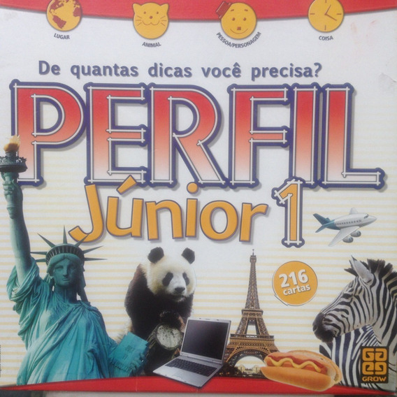 Jogo Grow - Perfil Junior 1