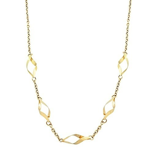 Cadena De Moda Para Mujer Collares 10k760-18 Kooljewelry