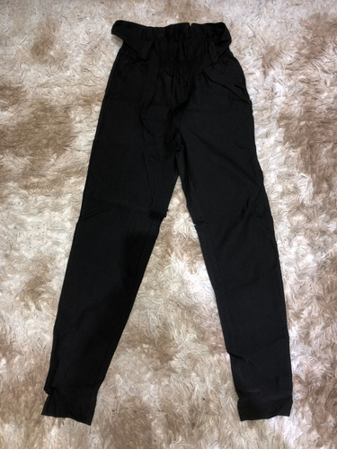 Pantalon Chupin  Con Lazo   Bengalina Lisa