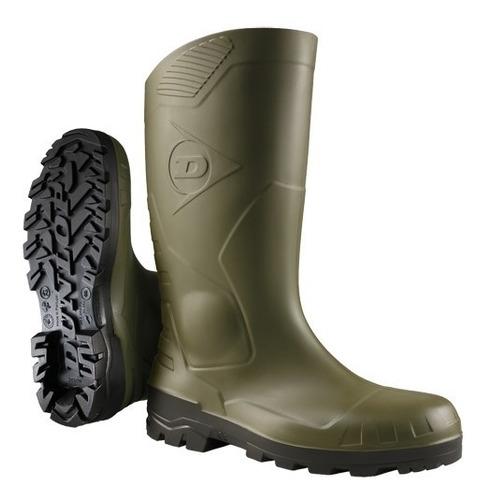 Botas De Goma Pvc Dunlop H142611 Devon Verde Alta 36-46