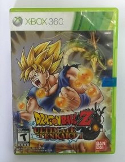 Jogo Dragon Ball Z Ultimate Tenkaichi Lacrado Xbox 360 Mídia Física