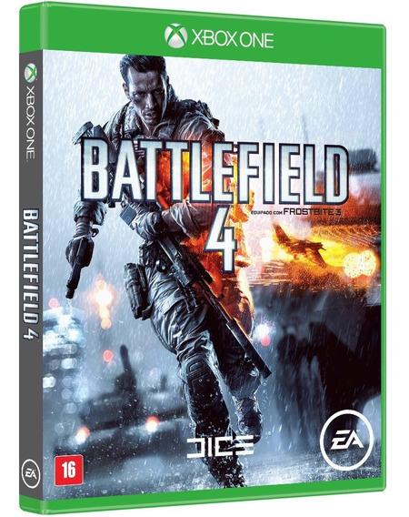 Battlefield 4 Xbox One Midia Fisica Novo 100% Portugues Novo