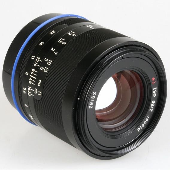 Objetiva Carl Zeiss Planar T* 50mm F2 Loxia Para Sony E