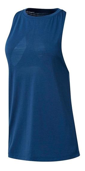 Musculosa Reebok Burnout Azul Mujer