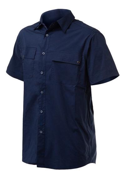 Camisa Trekking Hombre Nexxt Harbor Manga Corta