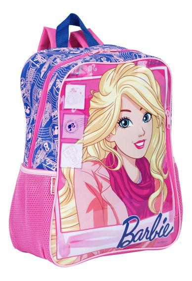 Mochila Grande Barbie 18m