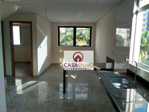 Imagem 1 de 28 de Cobertura Com 2 Quartos À Venda, 100 M² - Lourdes - Belo Horizonte/mg - Co0278