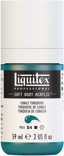 Imagen 1 de 6 de Liquitex Professional Soft Body Pintura Acrilica Botella De