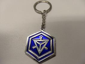 Chaveiro Ingress Niantic (raro) Metal (3 Unidades)