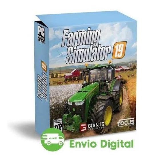 Farming Simulator 19+ Todas Atualizações 19+ Envio Imediato
