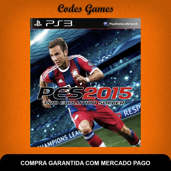 Pro Evolution Soccer 2015 - Pes 15 - Português - Ps3