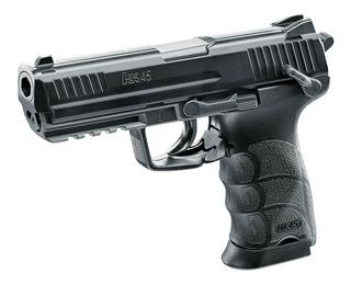 Pistola H&k Hk45 Co2 Cal 4.5mm 19 Bbs Caza Airsoft Outdoor