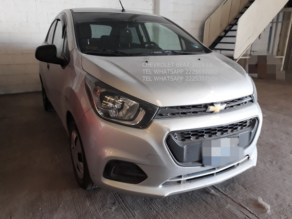Chevrolet Beat 2018 Ls 4 Cil Manual Enganche $ 27,600