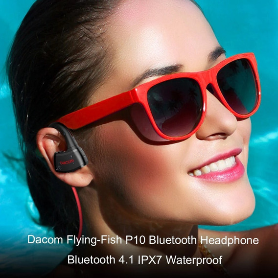 Fone Dacom P10 Bluetooth Para Utilização Em Piscina Ipx7