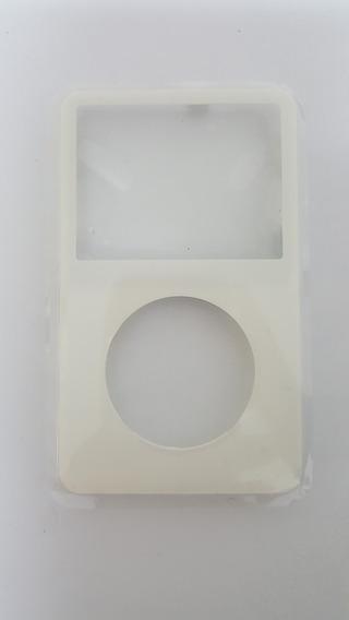Carcaça Frontal iPod Vídeo A1136 Branca Nova Original