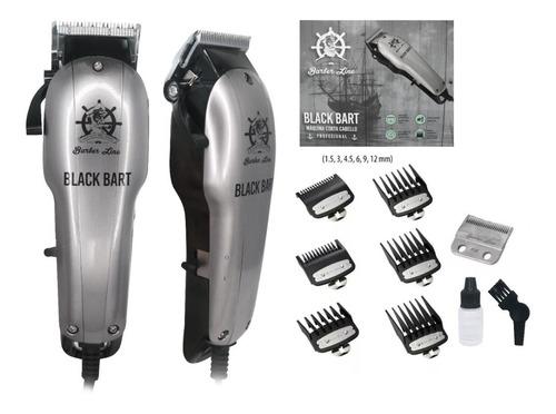 Maquina Corta Pelo Black Bart Barber Line Eurostil Barber E