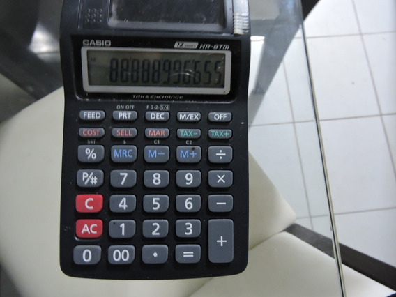 Calculadora Casio Semi Nova