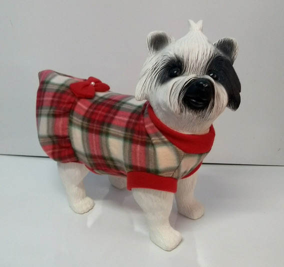 Roupa Para Cachorro - Vestido Em Sofit - Tam 1 Ao 4
