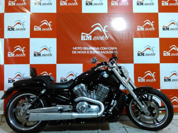 Harley Davidson V Rod Muscle Vrscf 2013 Preta