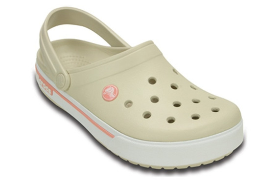 Crocs Bege E Rosa Nova Original