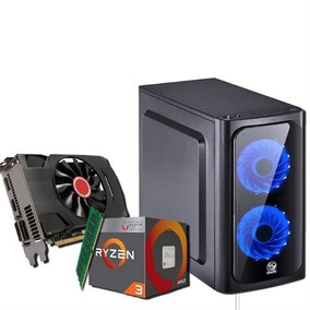 Pc Game Hd 2 Tb 8 Gb Ram Placa Vid Geforce Gt 1030 + Jogos