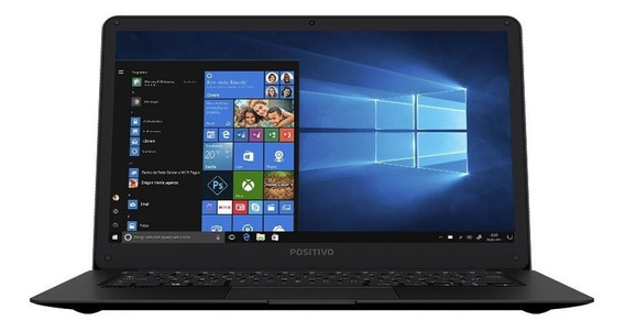 Notebook Positivo Quad Core 2gb 32gb Ssd Tela 14 Polegadas W
