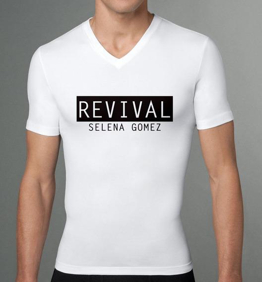 Playera Caballero Selena Gomez Revival