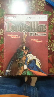 Serie Récord Of Lodoss War Dvd Collection