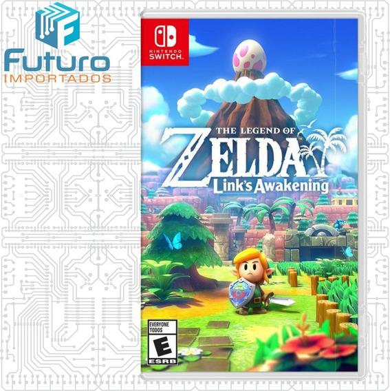 Jogo Zelda Links Awakening Mídia Física Para Nintendo Switch