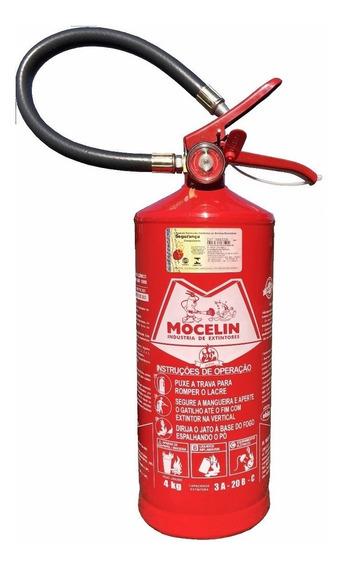 Extintor Abc 4kg 5 Anos (03/2024) + Com Suporte, Nf