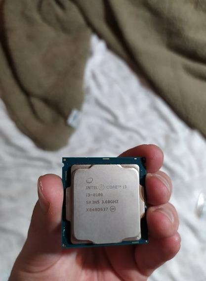 Processador Intel Core I3-8100 Coffee Lake, Cache 6mb, 3.6gh
