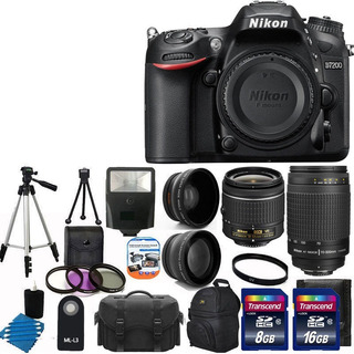 Camara Nikon D7200 En Kit