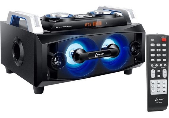 Mini System Lenoxx Ms8300 150w Rms Bluetooth Fm Mp3 Aux Usb