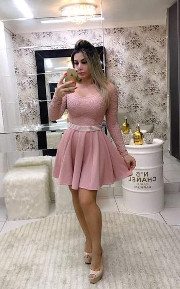 Vestido Neoprine Midi.