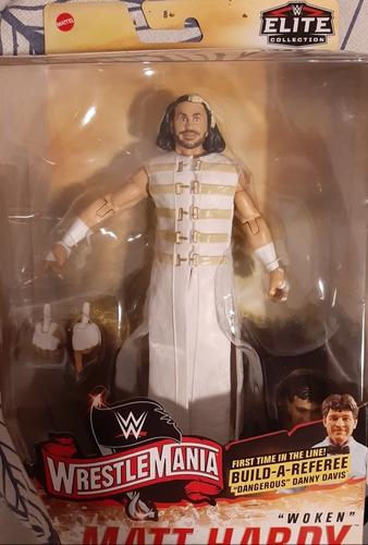 Imagen 1 de 4 de Figura Matt Hardy Woken Wwe Mattel Elite Lucha Libre Wrestle