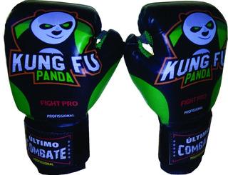 Luva Muay Thai Infantil Ultimo Combate Kung Fu Panda