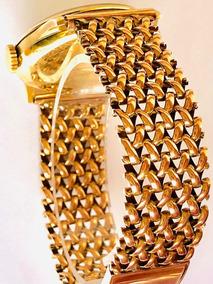 Relógio E Pulseira Em Ouro 18k Longines No Estojo Original!