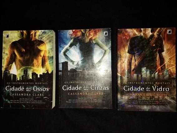 Coleção Os Intrumentos Mortais 1, 2 E 3 Cidade Dos Ossos