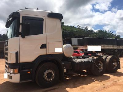 Scania R 420 6x4 Ano 2007 Leve = Volvo Fh 380 400 Axor 2640